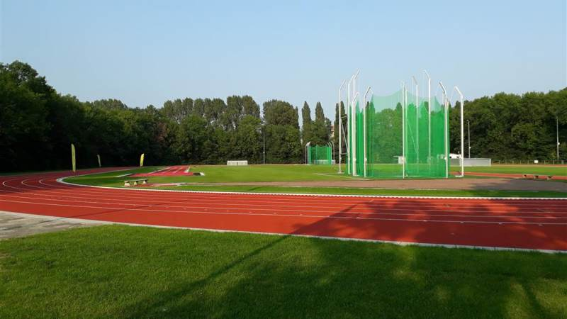 Heropening atletiekbaan SPARK in Spijkenisse