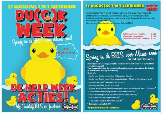 DuckWeek van start bij DukdalfBRES