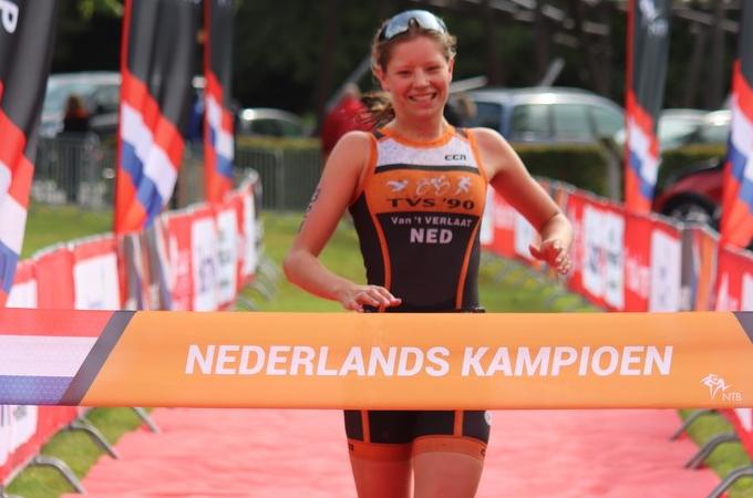 Kim van 't Verlaat Nederlands Kampioen