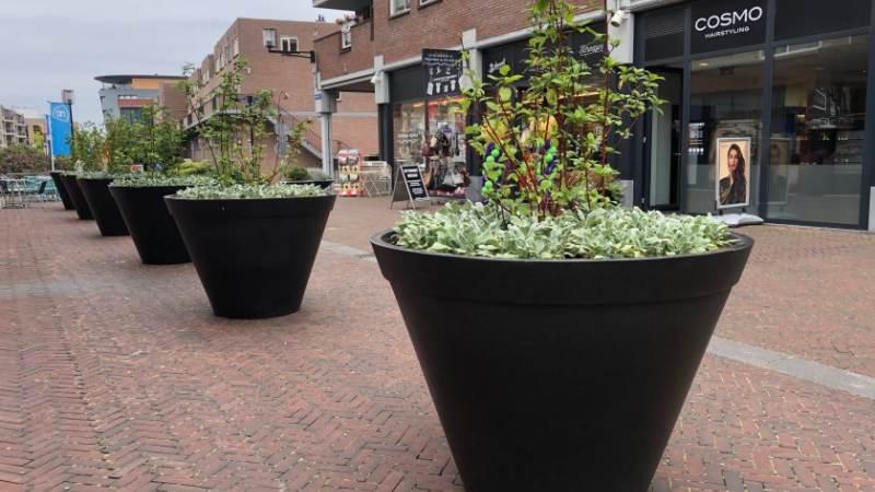 Winkelgebied in centrum Spijkenisse vergroent