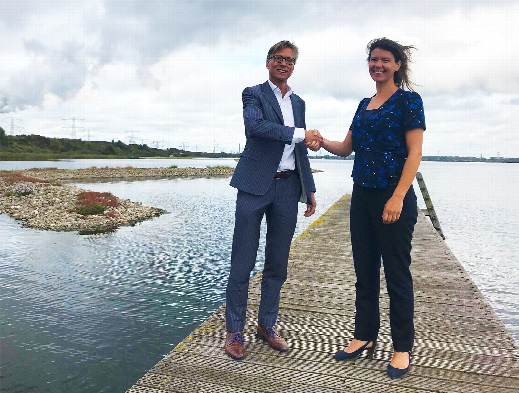 Onderzoeksfaciliteit Oostvoornse meer van start