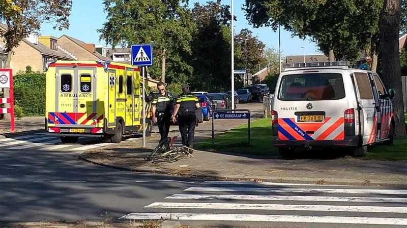 Racefietser gewond na aanrijding met auto