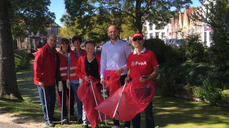 PvdA Nissewaard op World Cleanup Day