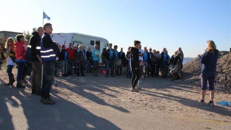 World Cleanup Day bij Haringvliet groot succes!