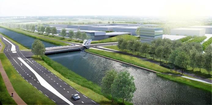 Afsluitingen Hellevoetsluis vanwege nieuwe brug