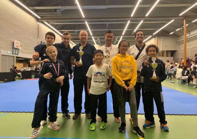 Taekwondo Voorne-Putten scoort op het NK!