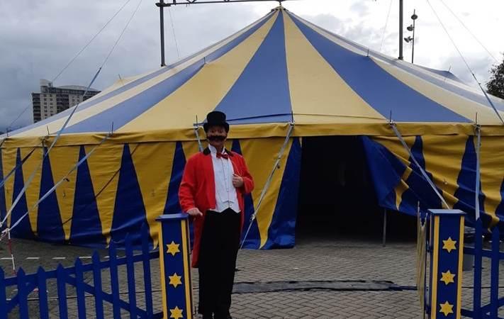 Bewoners genieten van spektakelshow Circus Sijm