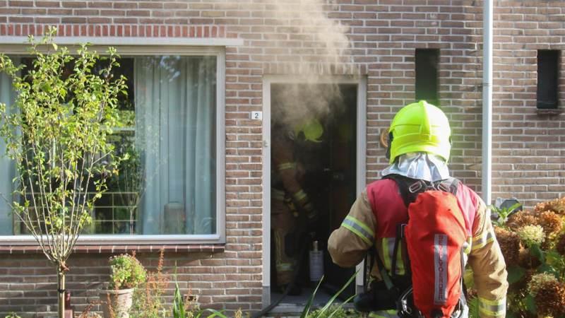 Veel rookontwikkeling bij brand in meterkast