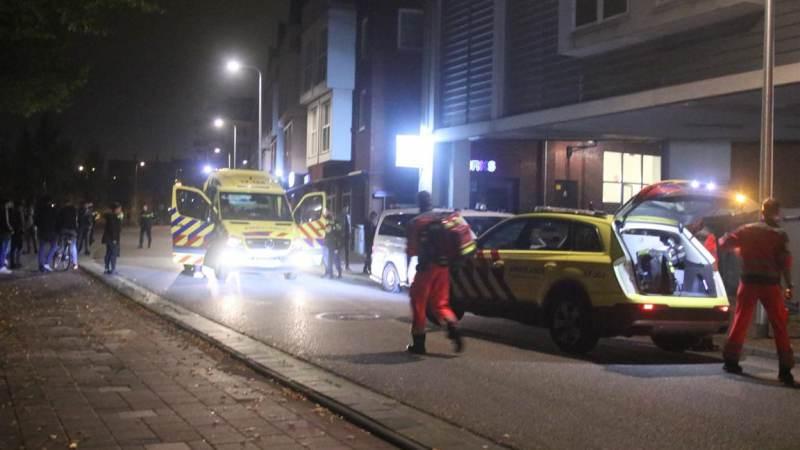 Man zwaargewond na steekpartij in Spijkenisse