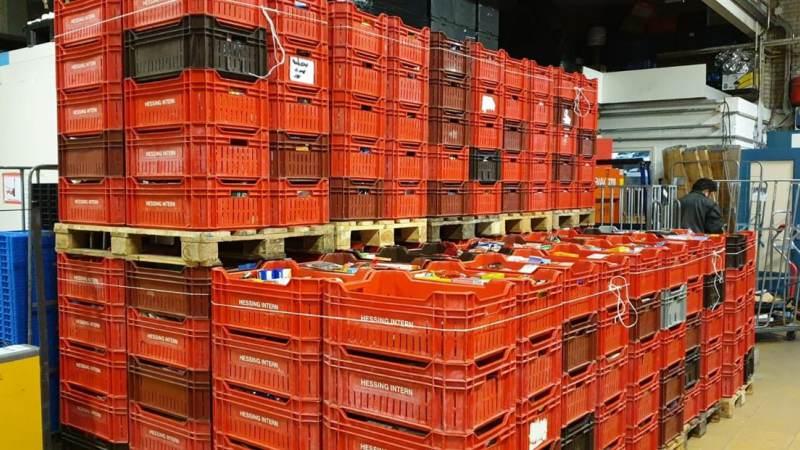 Om stil van te worden, de supermarktactie!