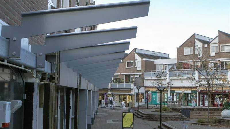 Nieuw groen op winkelcentrum Struytse Hoeck