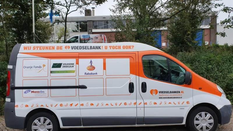 Rabobank steunt Voedselbank Spijkenisse e.o.
