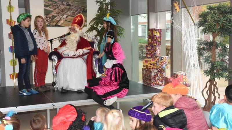 Sinterklaas goed aangekomen in Vierpolders