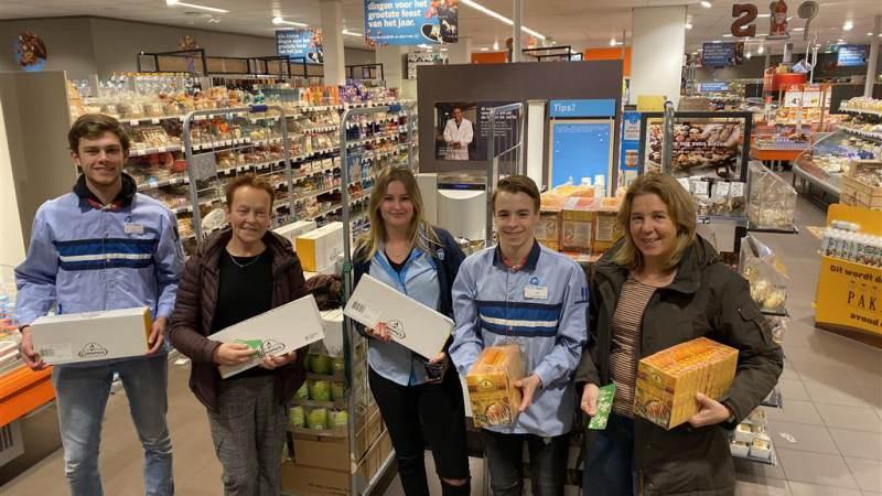 1400 euro boodschappen voor de Voedselbank