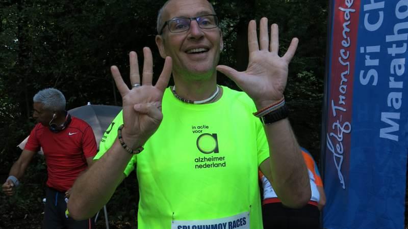 Koen Peeters: iedere maand een marathon