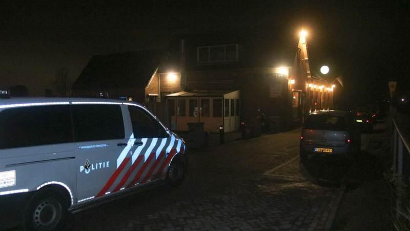 Overval op café Ververs in Oudenhoorn