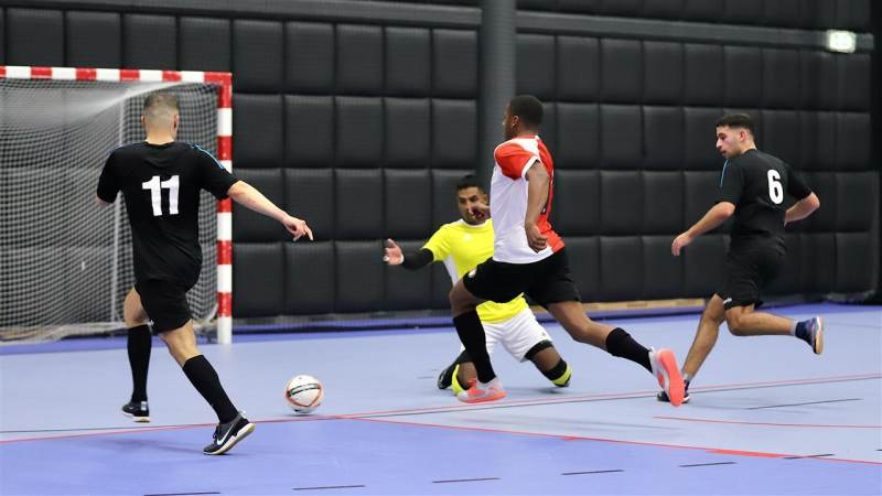 Verslag zaalvoetbal: TPP/Feyenoord 2 - OACN Boys 1