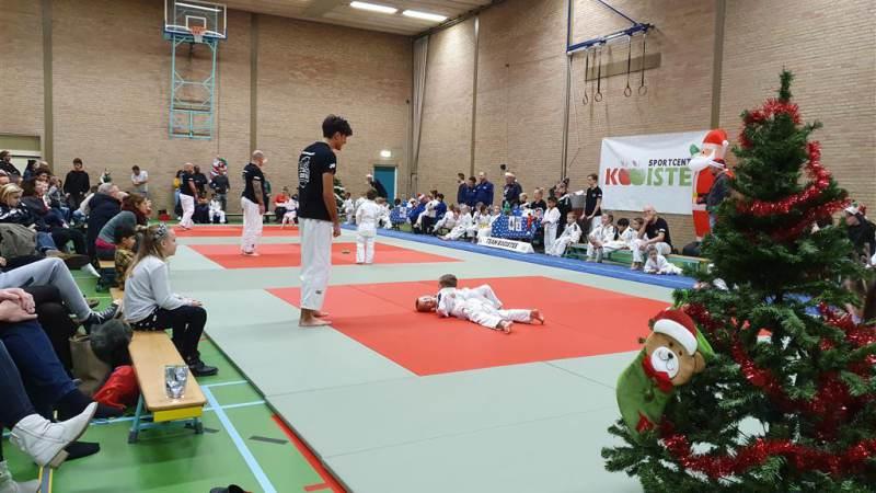 Eerste judo kersttoernooi een groot succes