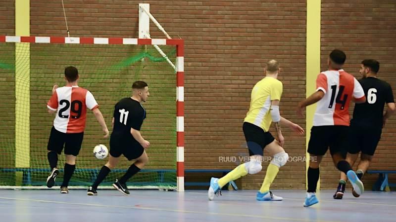 Zaalvoetbal: OACN 1 - TPP/Feyenoord Futsal 1