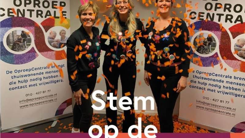 OproepCentrale genomineerd, stem ook mee!