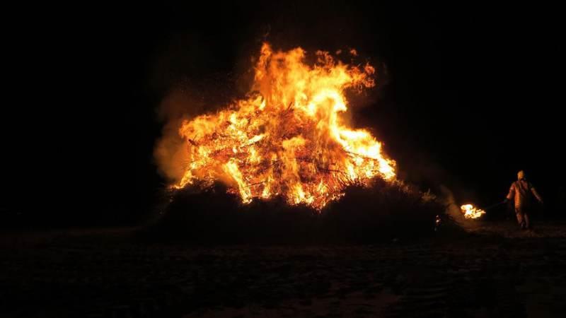 Kerstboomverbranding in Hellevoetsluis afgelast
