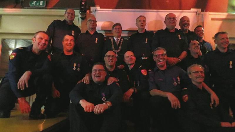 12 Koninklijke Onderscheidingen bij de brandweer!