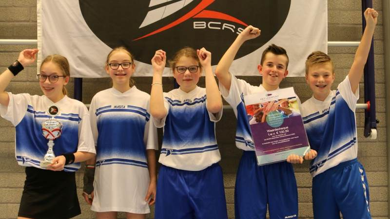 OBS Vogelenzang Noord wint BCRS Scholentoernooi
