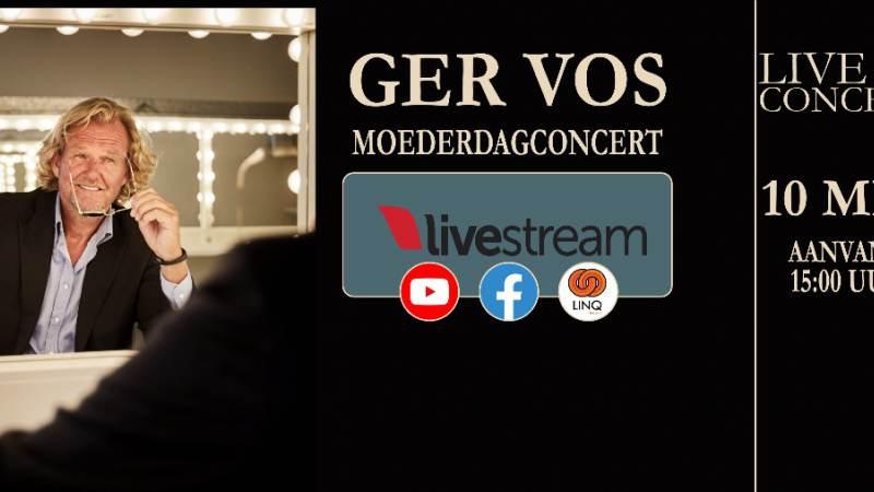 Livestream Moederdag met Ger Vos!