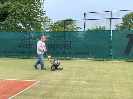 Weer tennissen bij TV Zwartewaal