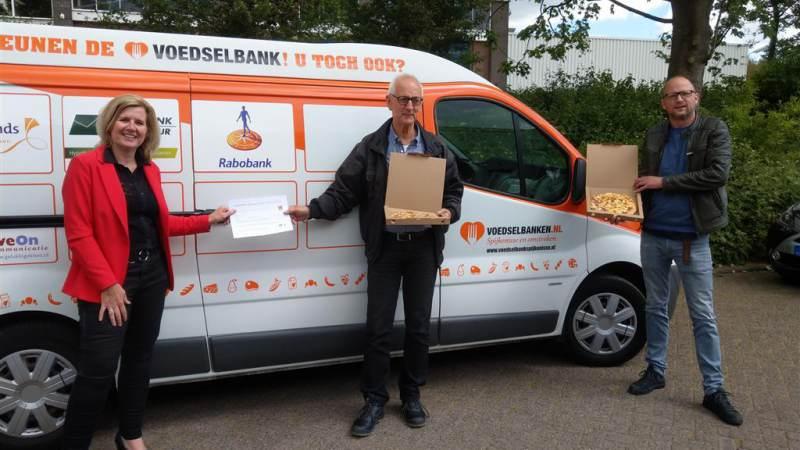Rabobank en Café Merz steunen voedselbank