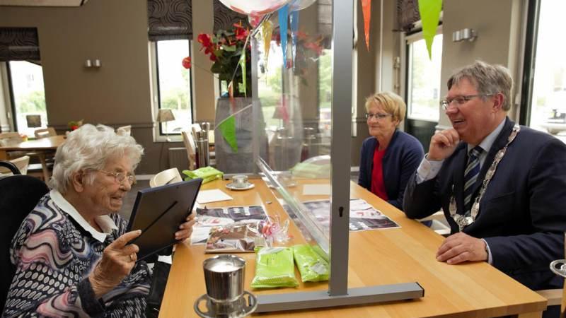 Oudste inwoner van Brielle 104 jaar
