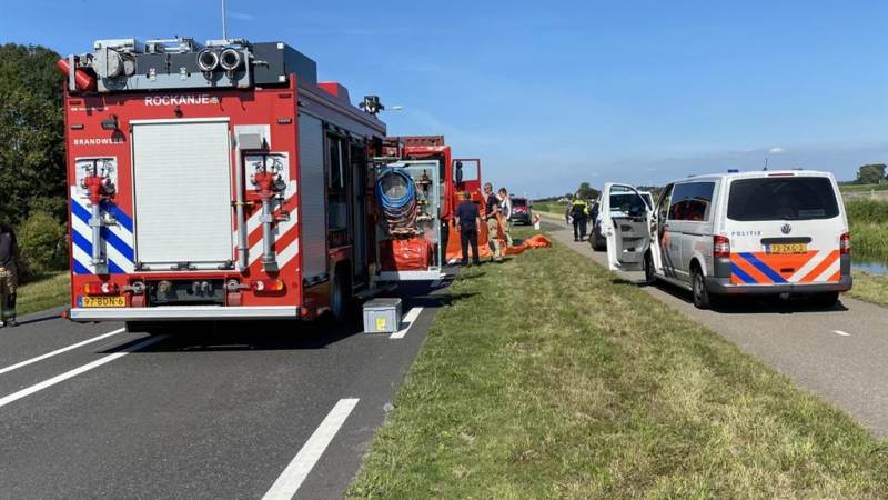 Vrouw overlijdt bij ernstig ongeval Westvoorneweg