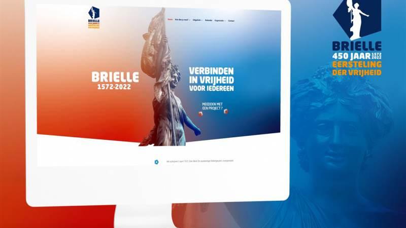 Stichting Brielle 2022 onthult website 450 jaar Vrijheid