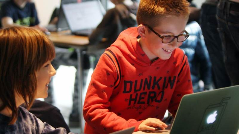 CoderDojo in de bieb