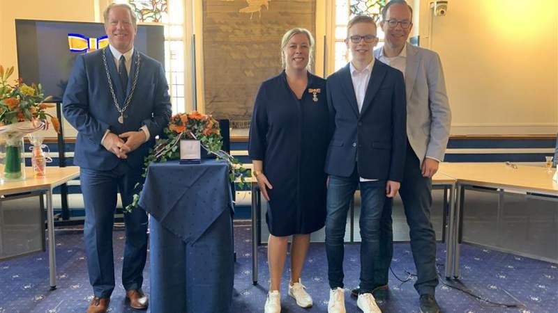 Koninklijke onderscheiding in Westvoorne