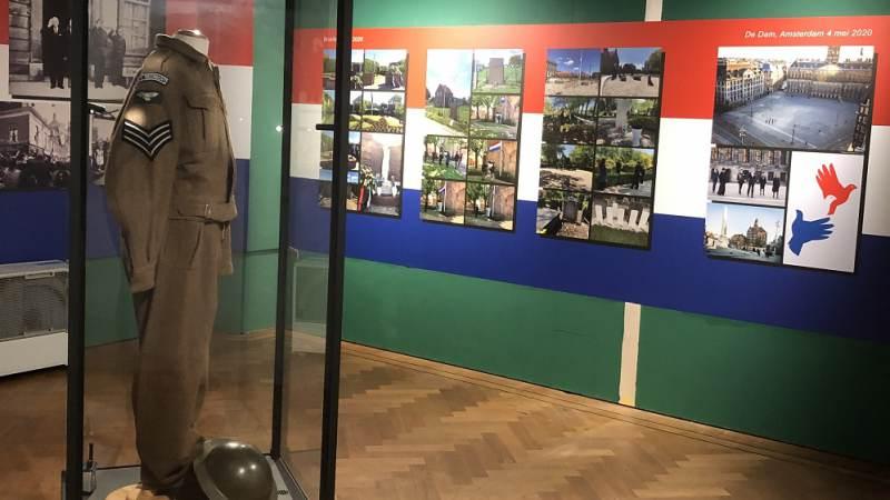 Uitbreiding 75 Jaar Vrijheid in museum in Brielle