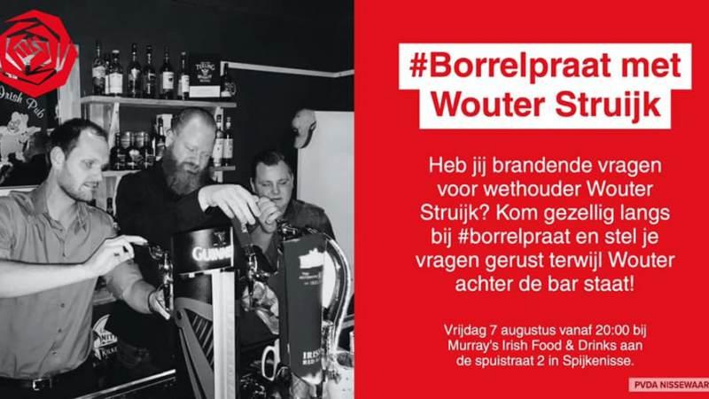 PvdA Borrelpraat met Wouter Struijk