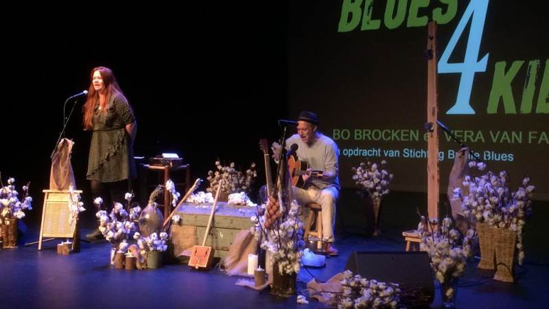 Voorstelling Blues 4 Kids in het BREStheater