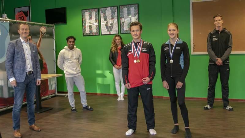 Hellevoetsluis huldigt sportkampioenen KDO-Sport