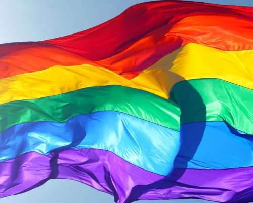Gemeente Hellevoetsluis hijst de regenboogvlag