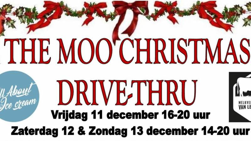 The Moo Christmas Drive-Thru