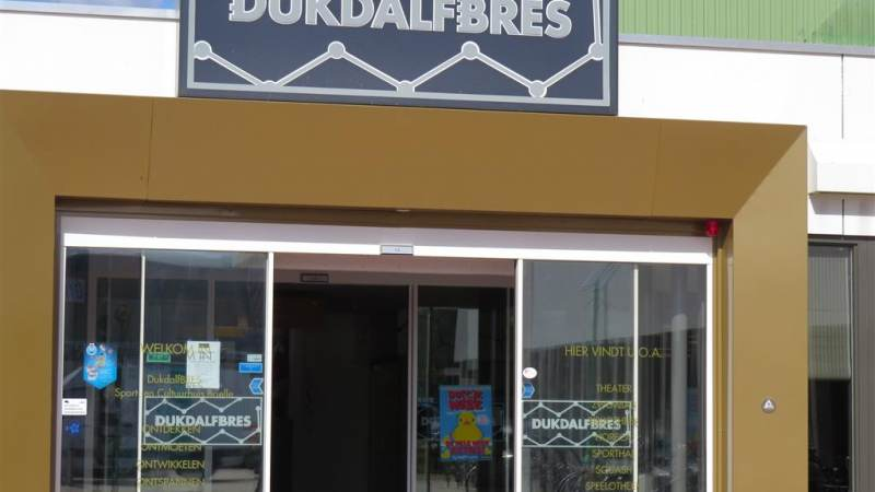 Dukdalf vaccinatielocatie in gemeente Brielle
