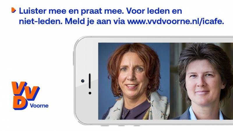 VVD iCafé met Helma Lodders en Mirjam Nelisse