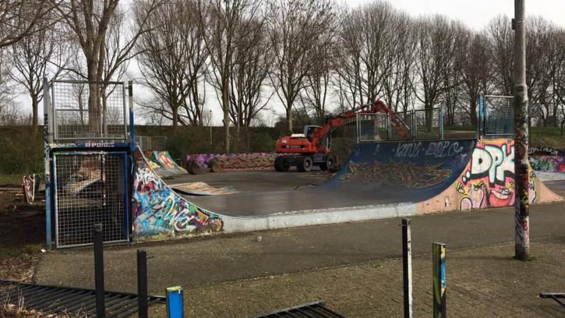 Sloopwerkzaamheden aan skatepark begonnen
