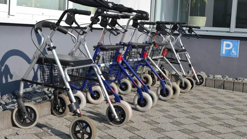 Rollatorrace Senioren