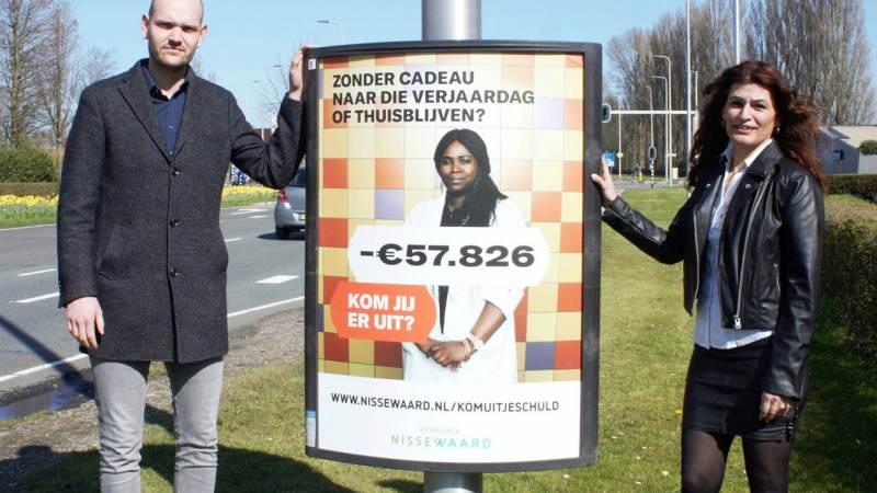 Campagne 'Kom uit je schuld' in Nissewaard