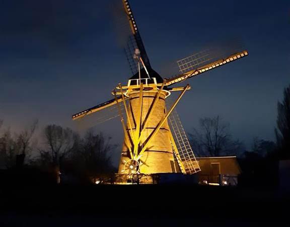 Prachtige feestdag voor 200 jarige molen