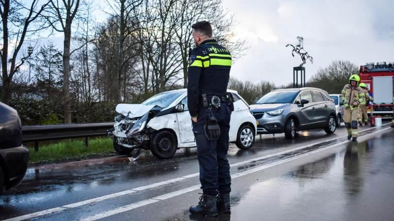 Gewonden bij ongeval op de Groene Kruisweg