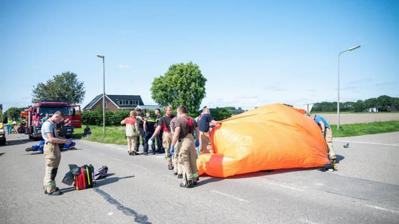 Motorrijder komt om bij aanrijding in Oudenhoorn