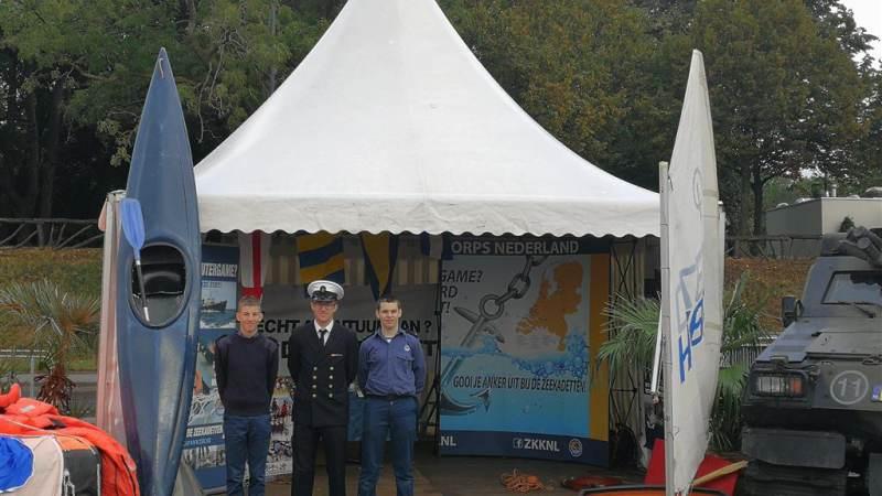 Zeekadetkorps en Marine samen bij Wereldhavendagen
